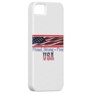 Los E.E.U.U. fuertes iPhone 5 Protectores