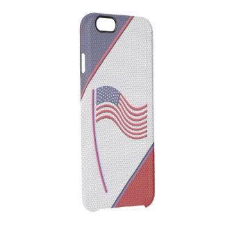 LOS E.E.U.U. FUNDA CLEARLY™ DEFLECTOR PARA iPhone 6 DE UNCOMMON