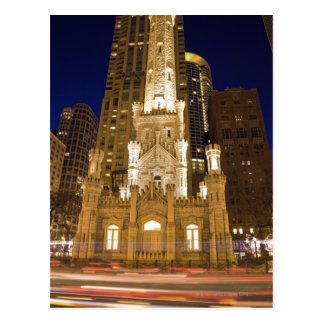 Los E.E.U.U., Illinois, Chicago, torre de agua Postal
