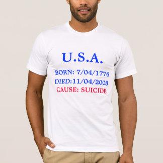 LOS E.E.U.U., LLEVADOS: 7/04/1776, CAUSA: EL CAMISETA