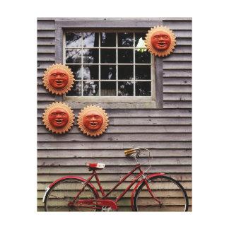 Los E.E.U.U., Maine, Wiscasset, máscaras de Sun y Impresión En Lona