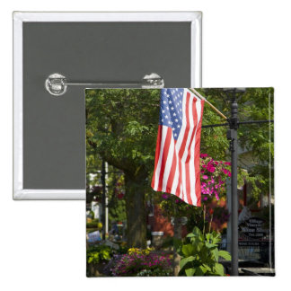 Los E.E.U.U., Nueva York, Lewiston. Bandera americ Pin