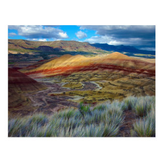 Los E.E.U.U., Oregon. Paisaje de las colinas Postal