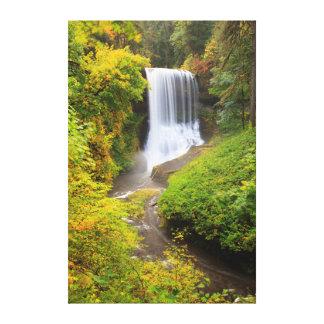 Los E.E.U.U., Oregon, plata caen el parque de Impresion De Lienzo