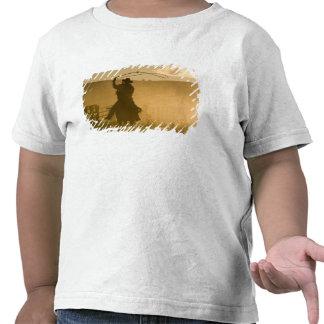 Los E.E.U.U., Oregon, Seneca, rancho de Ponderosa. Camiseta