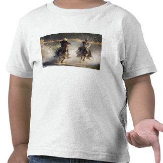 Los E.E.U.U., Oregon, Seneca, rancho de Ponderosa. Camisetas