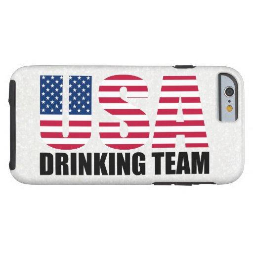 Los E.E.U.U. que beben al equipo Funda De iPhone 6 Tough