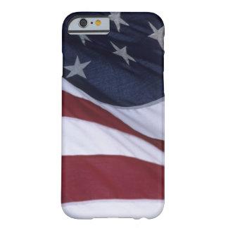 Los E.E.U.U. señalan por medio de una bandera, Funda De iPhone 6 Barely There