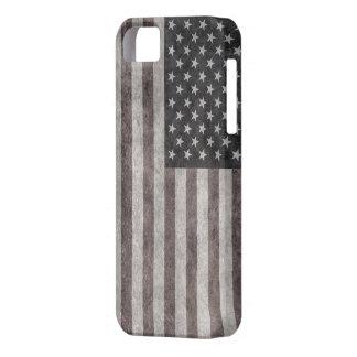 Los E.E.U.U. señalan por medio de una bandera, iPhone 5 Carcasas
