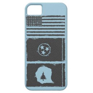 Los E.E.U.U., TN, caja del teléfono del condado de iPhone 5 Case-Mate Cárcasas