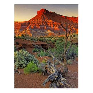 Los E.E.U.U., Utah. Formación de la piedra Postal