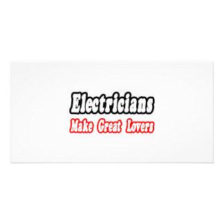 Los electricistas hacen a grandes amantes tarjeta personal
