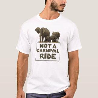 Los elefantes no son un paseo del carnaval camiseta
