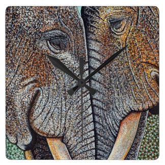 Los elefantes nunca olvidan el reloj