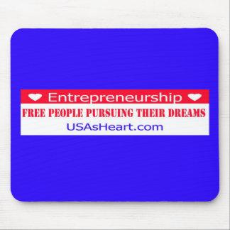 Los empresarios liberan sueños de la gente alfombrilla de ratón