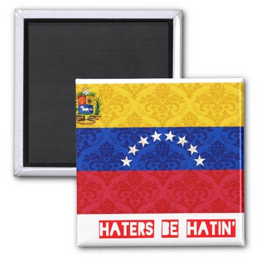 Los enemigos sean hatin Venezuela Imán De Nevera