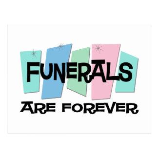 Los entierros son Forever Postal