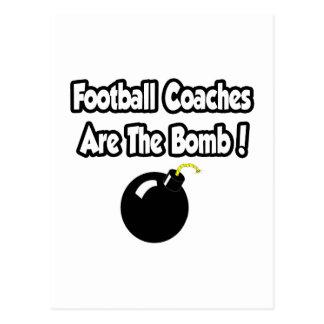 ¡Los entrenadores de fútbol son la bomba! Postal