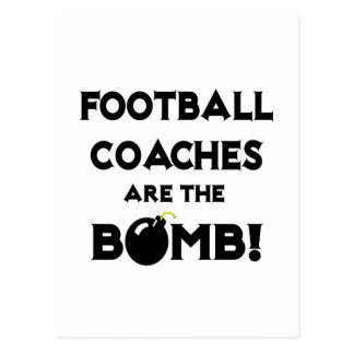 ¡Los entrenadores de fútbol son la bomba! Tarjeta Postal