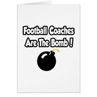 ¡Los entrenadores de fútbol son la bomba! Tarjeton