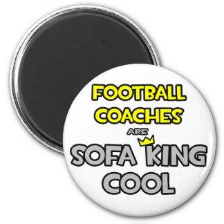 Los entrenadores de fútbol son rey Cool del sofá Imanes