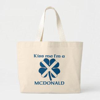 Los escoceses personalizados me besan que soy Mcdo Bolsa