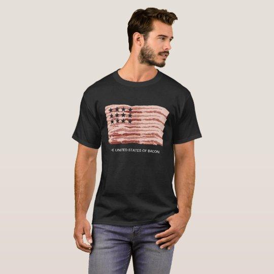 Los Estados Unidos del tocino Camiseta