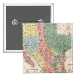 Los Estados Unidos y el México Chapa Cuadrada