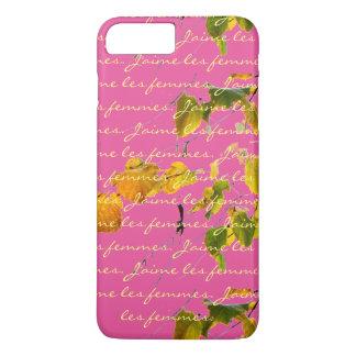 Los femmes de los les de J'aime con el vintage se Funda iPhone 7 Plus
