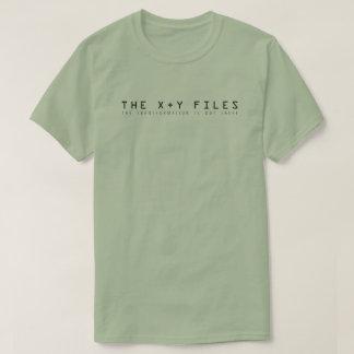Los ficheros de X y de Y: La transformación está Camiseta