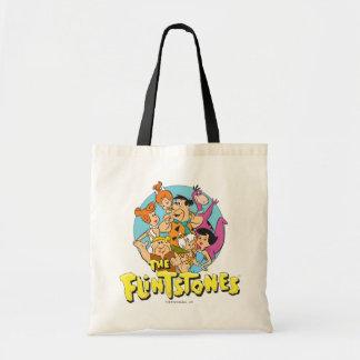 Los Flintstones y el gráfico de la familia de los