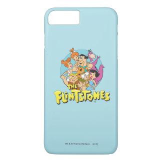 Los Flintstones y el gráfico de la familia de los Funda iPhone 7 Plus