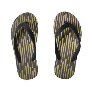 Los flips-flopes del niño del modelo del negro/del chanclas para niños