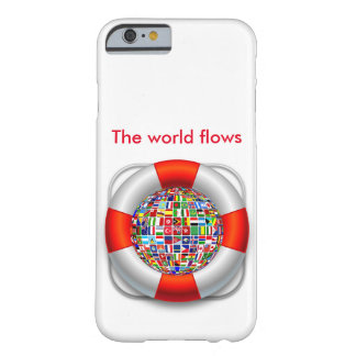 Los flujos del mundo funda barely there iPhone 6