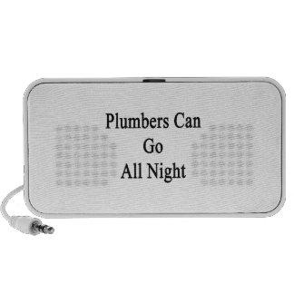 Los fontaneros pueden ir toda la noche portátil altavoces