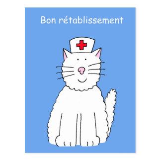Los franceses consiguen pronto el gato bien, Bon Postal
