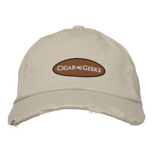 Los frikis del cigarro bordaron el casquillo apena gorra de beisbol bordada