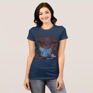 Los gatos del espacio descubren el hilado camiseta