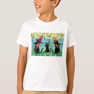 """Los gatos """"n tocan el violín la camiseta"""