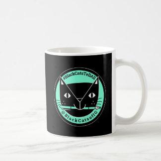 Los gatos negros dicen toda la taza del gato negro