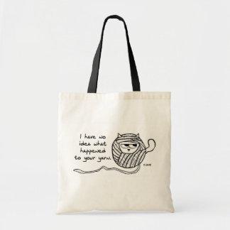 Los gatos roban el hilado - la bolsa de asas