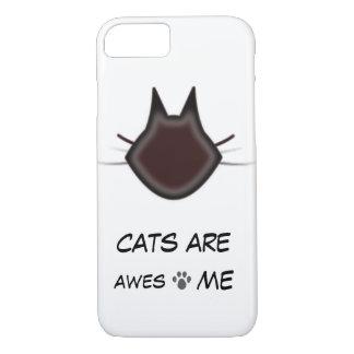 Los gatos son impresionantes funda iPhone 7