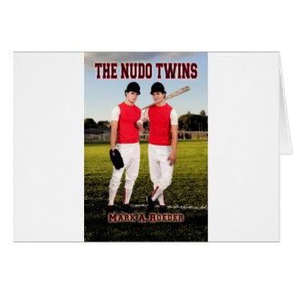 Los gemelos de Nudo Tarjeta De Felicitación