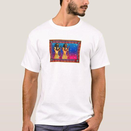 Los gemelos egipcios de Karen rebajan el estudio Camiseta