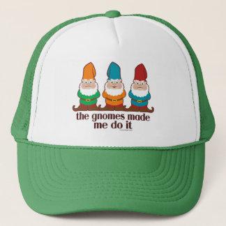 Los gnomos hicieron que lo hace gorra de camionero