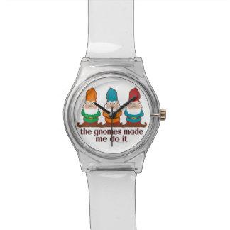Los gnomos hicieron que lo hace relojes