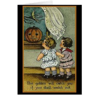 Los Goblins le cogerán las tarjetas de Halloween