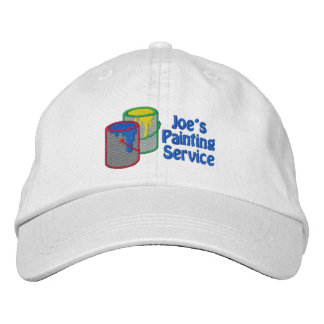 Los gorras personalizados personalizado del pintor gorro bordado