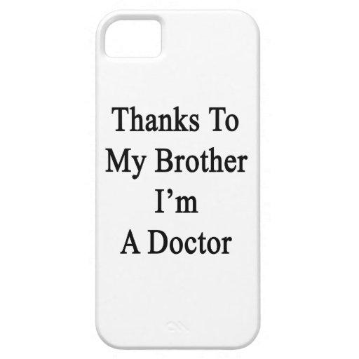 Los gracias a mi Brother soy doctor iPhone 5 Case-Mate Protector
