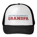 Los grandes papás consiguen promovidos al abuelo gorras